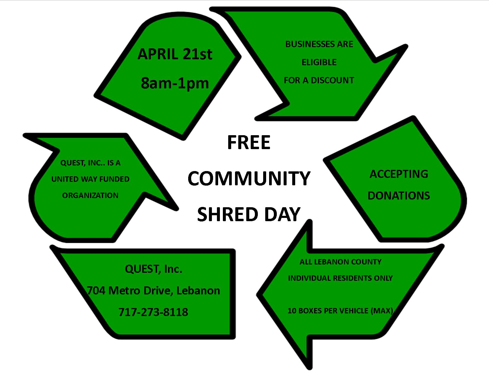 Free Shred Day 2018