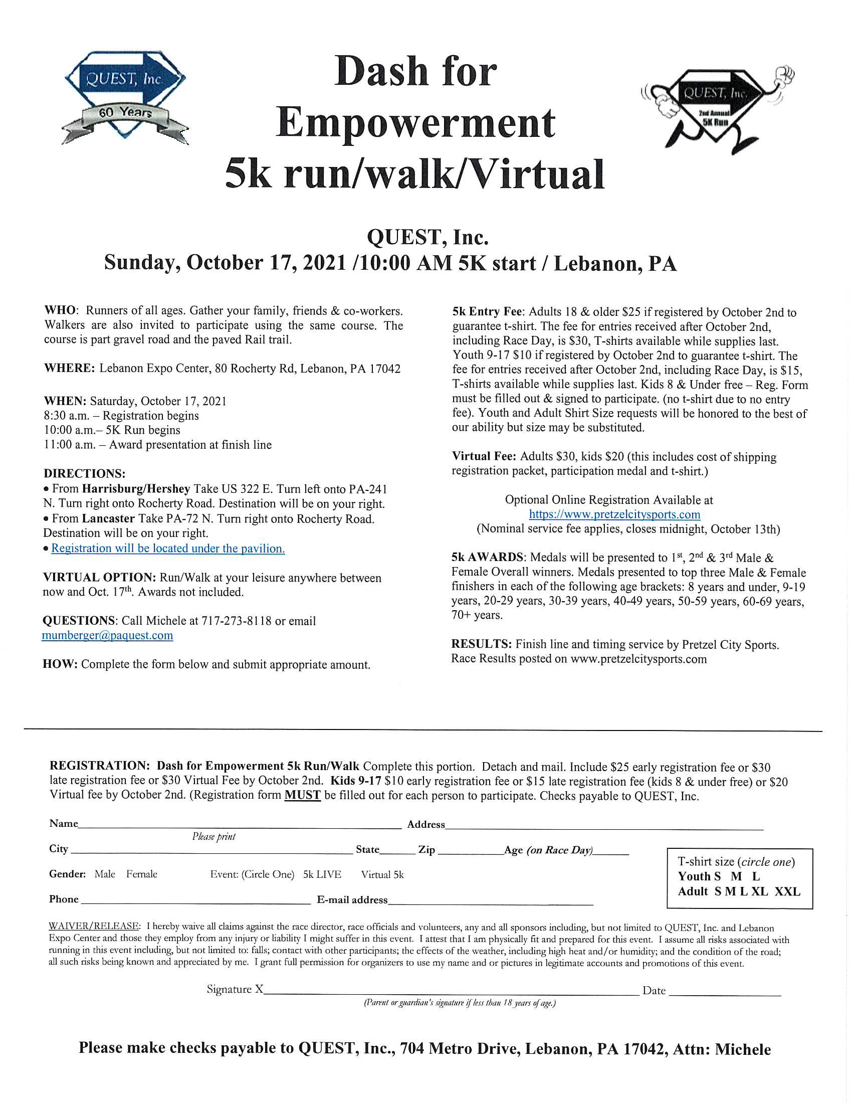 registration from